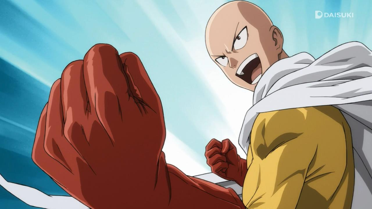 one punch man too many words